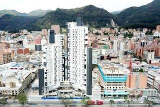 Apartamento en venta en Barrio Chapinero de 44m² con Bbq...
