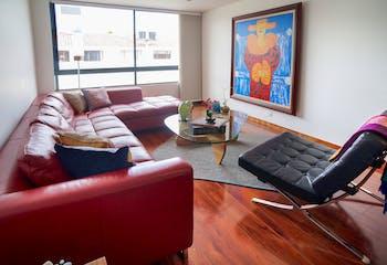 Apartamento en Chico Navarra con 58 mts, tercer piso.