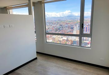 Apartamento de 43m2 en Chapinero Central, Bogotá - con excelentes vías de acceso