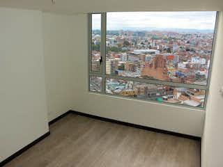 Una vista de una ciudad desde el interior de un edificio en TORRE NORTE OIKOS INFINITUM