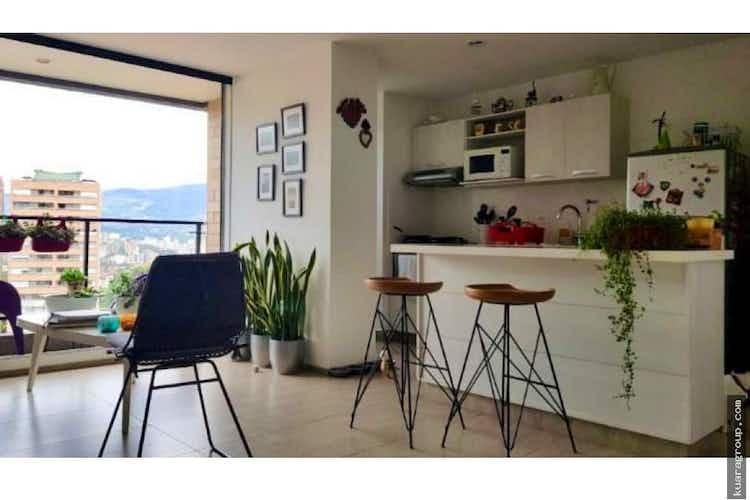 Portada Apartamento con vista espectacular en envigado - 74 mts, 1 parqueadero.