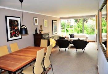 Apartamento de 138m2 en Chicó Navarra, Bogotá - con tres habitaciones