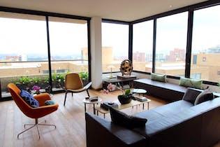 Apartamento en Rosales de 2 cuartos, 175 mts + 7 mts de balcón