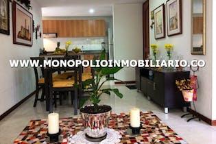Apartamento en Los Naranjaos, Poblado - 110mt, tres alcobas, dos balcones