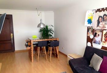 Apartamento Contador, Cedritos con 3 habitaciones - 71 mt2.