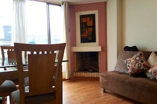 Apartamento en Nicolas de Federman, Teusaquillo - Dos alcobas con un área de 58m2.