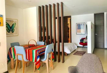 Apartamento en San Patricio de una habitación, 65 mts