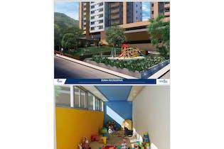 Apartamento en suramericana orión - 57,58 mts, 1 parqueadero.