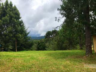 Una vista de un campo con árboles en el fondo en Lote en alto del escobero volta housing - mts 1.590 mts.