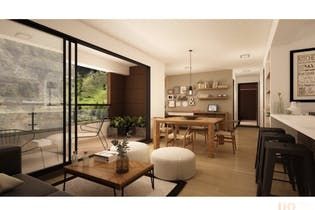 Apartamento en El Retiro, Puro Cuero - 79mt, dos alcobas, balcón