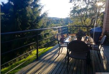 Casa en Alto de las Palmas, Envigado - 3500mt, tres alcobas, terraza