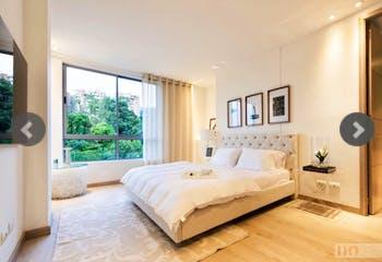 Apartamento en Loma de las Brujas, Envigado - 169mmt, tres alcobas, balcón
