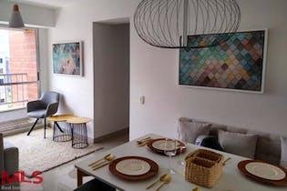 Apartamento en Pentagrama (Belén) - 60 mts, tres habitaciones