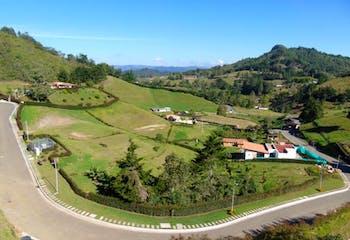 Lote En La Ceja Via - Don Diego,cuenta con hermosa vista