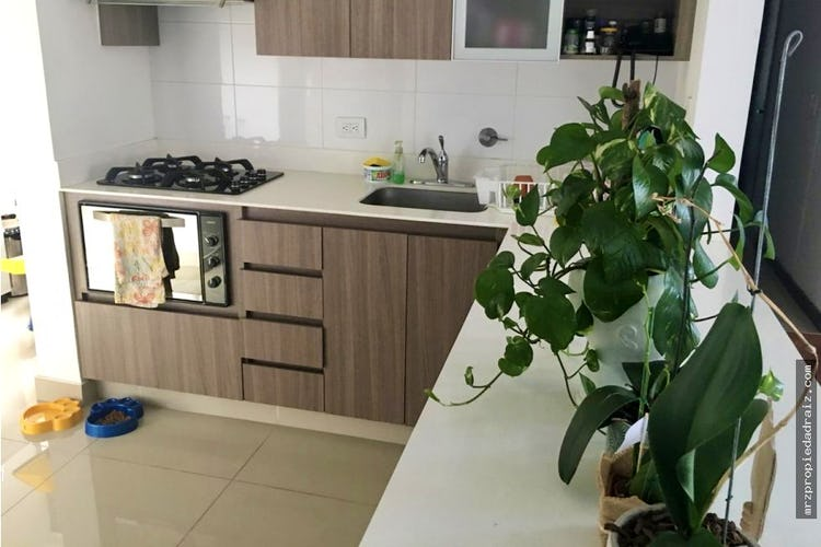 Foto 5 de Apartamento  Ciudad del rio - Medellin, cuenta con tres habitaciones