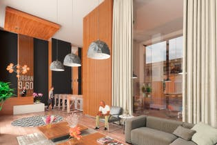 Vivienda nueva, Urban 960, Apartamentos en venta en Chapinero con 17m² - 18m²