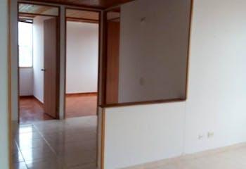 Apartamento de 63m2 en Hayuelos, Bogotá - en sexto piso