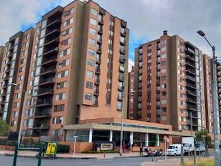 Un gran edificio en medio de una ciudad en Apartamento en venta en La Felicidad de 74m² con Gimnasio...