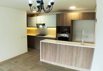 Apartamento en Loma de las Brujas, Envigado - 114mt, dos alcobas