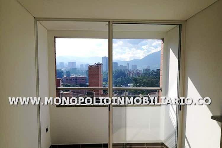 Portada Apartamento en Calle Larga, Sabaneta - 65mt, dos alcobas, balcón