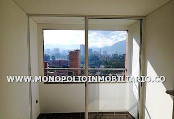 Apartamento en Calle Larga, Sabaneta - 65mt, dos alcobas, balcón
