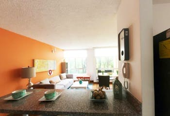 Apartamento En Bogota - Castilla, Fontibón cuenta con tres habitaciones, 71,8m2