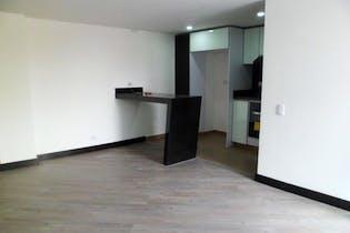 Apartamento en Bogota La Castellana, con 3 habitaciones y balcón - 100 mt2.
