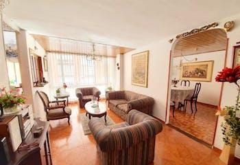 Apartamento en venta en Belmira Usaquén, 90m²