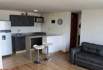 Apartamento en La Paz, Envigado con balcón y 3 habitaciones - 87 mt2.