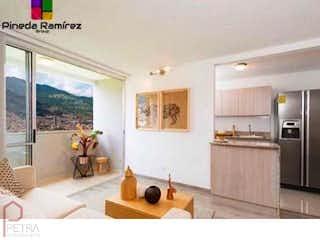 Una sala de estar llena de muchos muebles en Apartamento en Niquia, Bello - 61mt, tres alcobas, balcón