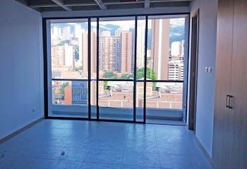 Apartaestudio en Sabaneta-Calle Larga, con Balcón - 45 mt2.
