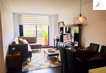 Apartamento en Cedritos, con 2 habitaciones y terraza - 70 mt2.