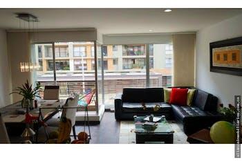 Apartamento en Caobos Salazar, Cedritos con 3 habitaciones y balcón - 93 mt2.