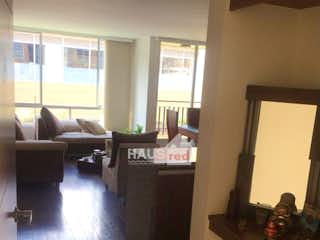 Una vista de una sala de estar y una sala de estar en Apartamento en Cajica, Cundinamarca - Tres alcobas