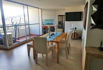 Apartamento en Bello, Cabañitas con 3 habitaciones y balcón - 114 mt2.