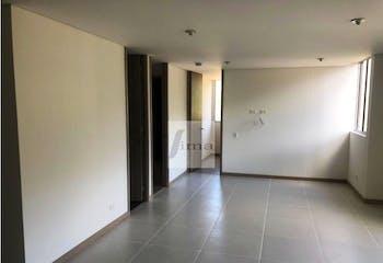 Apartamento en Loma Antillas-Envigado,  con 2 Habitaciones y Estudio - 69 mt2.