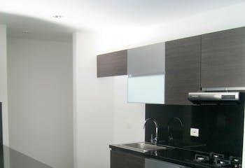 Apartamento en Santa Barbara Occidental con 2 habitaciones y 2 parqueaderos - 63 mt2.