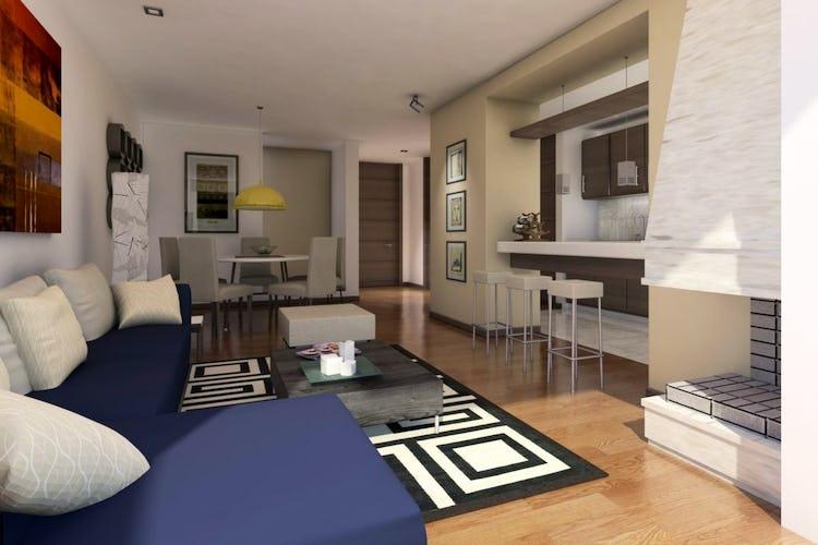 Portada Montemadero, Casas nuevas en venta, La Calera con 3 hab.