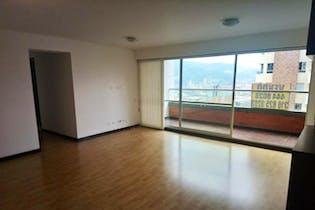 Apartamento en Aves María-Sabaneta, con 3 Habitaciones y blacón - 90 mt2