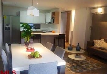 Apartamento en Los Balsos-Medellín, con 2 Habitaciones - 87.69 mt2.