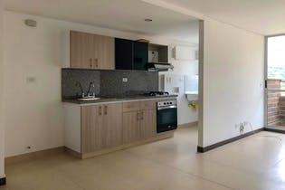 Apartamento en La Doctora, Sabaneta - 80mt, tres alcobas, balcón