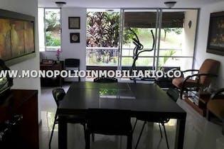 Apartamento en El Esmeraldal, Envigado - 106mt, tres alcobas