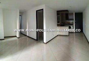 Apartamento en Rodeo Alto, Belen - 52mt, dos alcobas, balcón