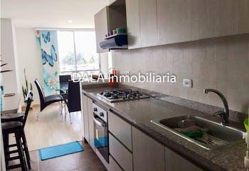 Apartamento en Cajica, Cundinamarca - 71mt, dos alcobas, balcón