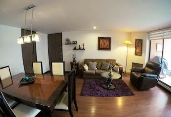 Apartamento de 99m2 en Colina Campestre, Bogotá - con tres habitaciones