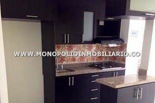 Apartamento en Alicate, Itagui - 53mt, tres alcobas, balcón