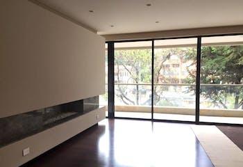 Apartamento en Rosales, Chico - 278mt, tres alcobas, chimenea