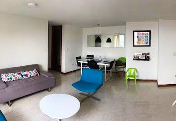 Apartamento en La Loma de los Bernal-Medellín, con 3 Habitaciones - 77 mt2.