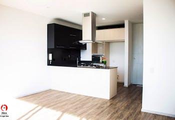 Apartamento de 64m2 en Los Balsos, El Poblado - amplia habitación
