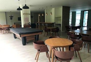 Apartamento en Alto de las Palmas, Envigado - 95mt, dos alcobas, chimenea